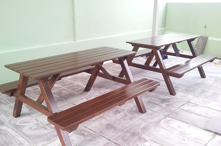 Outdoor Solid Balau Wood Furniture